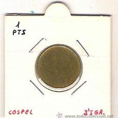 Monedas con errores: # ERROR # COSPEL DE 1 PESETA. Lote 37029172