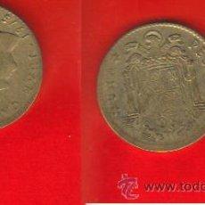 Monedas con errores: ESPAÑA ERROR DESPLAZADA 1 PESETA 1975. Lote 37763425