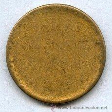 Monedas con errores: * ERROR * COSPEL DE 1 PESETA (1953-1963) SIN ACUÑAR. MUY RARO. Lote 39699281