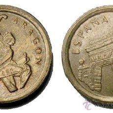 Monedas con errores: ERROR 5 PTAS 1994 ARAGON LISTEL ANCHO. Lote 26480801