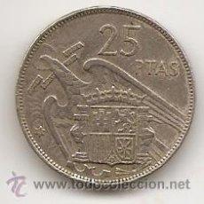Coins with Errors - Error de doble acuñación en anverso y reverso. 25 pesetas estrella 67 - 45581357