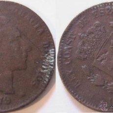 Monedas con errores: ESPAÑA 10 CENTIMOS 1879 REVERSO GIRADO - FALSA DE EPOCA- VARIANTE- ERROR (E46). Lote 45710825