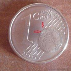 Monedas con errores: ALEMANIA 2002 MONEDA DE 1 CENTIMO CON EXCESO DE METAL EN REVERSO- ERROR- VARIANTE- AL2. Lote 48078988