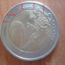 Monedas con errores: ALEMANIA 2012 MONEDA DE 2 EUROS EMU NUCLEO DESCENTRADO EN REVERSO- ERROR- VARIANTE- AL7. Lote 48080597