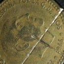 Monedas con errores: RAREZA Y ERROR DE ACUÑADO BOCADO 1 PESETA FRANCO CON MARCAS - FRANCO 1966. Lote 50903719
