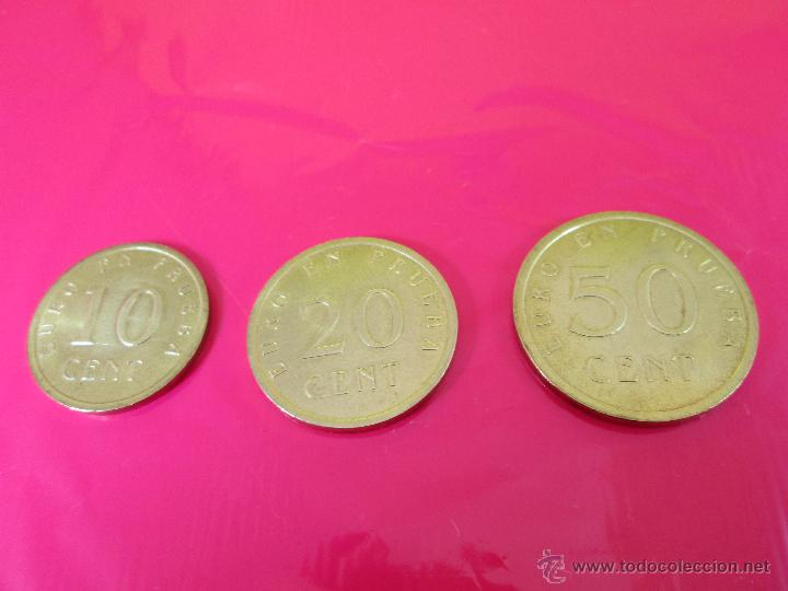 Monedas con errores: LOTE 3 MONEDAS-EURO-PRUEBA-10,20,50 CENTS-VER FOTOS. - Foto 3 - 54500982