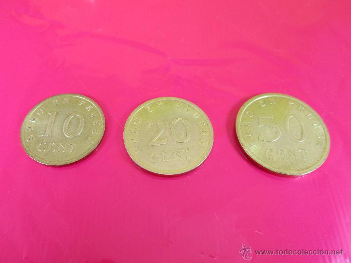 Monedas con errores: LOTE 3 MONEDAS-EURO-PRUEBA-10,20,50 CENTS-VER FOTOS. - Foto 5 - 54500982