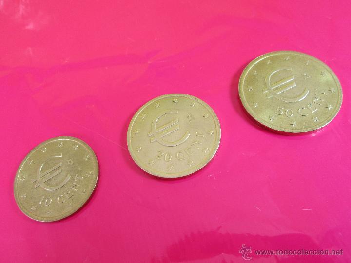 Monedas con errores: LOTE 3 MONEDAS-EURO-PRUEBA-10,20,50 CENTS-VER FOTOS. - Foto 6 - 54500982
