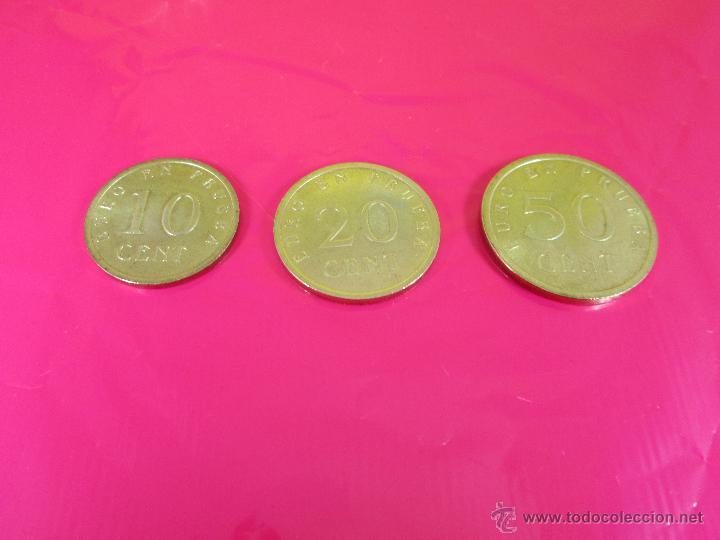 Monedas con errores: LOTE 3 MONEDAS-EURO-PRUEBA-10,20,50 CENTS-VER FOTOS. - Foto 7 - 54500982