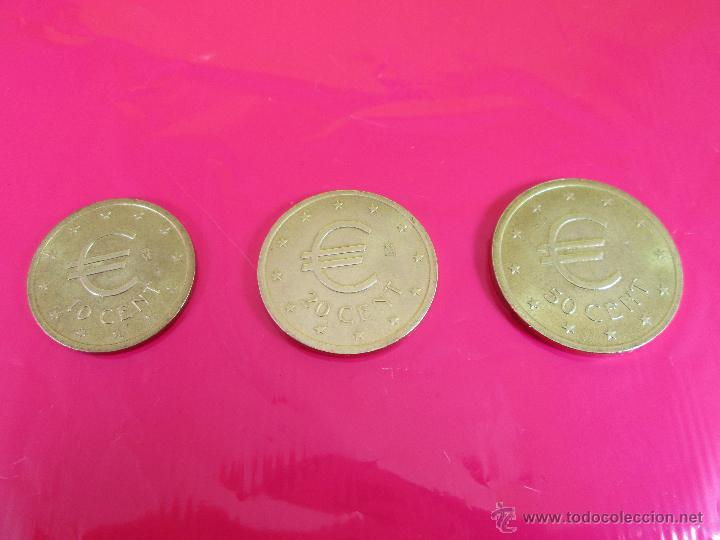 Monedas con errores: LOTE 3 MONEDAS-EURO-PRUEBA-10,20,50 CENTS-VER FOTOS. - Foto 9 - 54500982