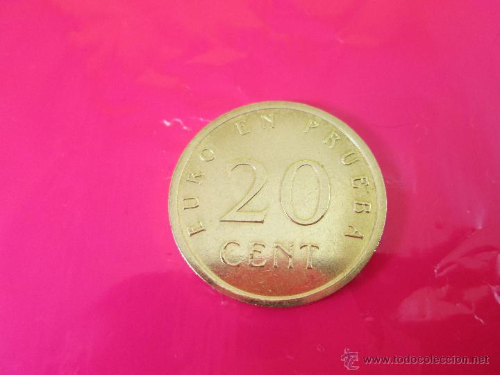 Monedas con errores: LOTE 3 MONEDAS-EURO-PRUEBA-10,20,50 CENTS-VER FOTOS. - Foto 10 - 54500982