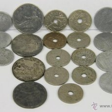 Monedas con errores: MO-202 - LOTE DE 25 MONEDAS VARIADAS,(VER DESCRIP) 1870-1953. Lote 51403159