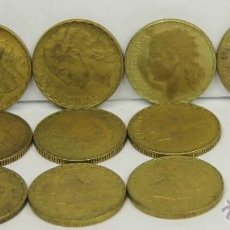 Monedas con errores: MO-203 - LOTE DE 14 MONEDAS,REPÚBLICA ESPAÑOLA. 1 PESETA - 50 CENT.(VER DESCRIP). 1937.. Lote 212320116