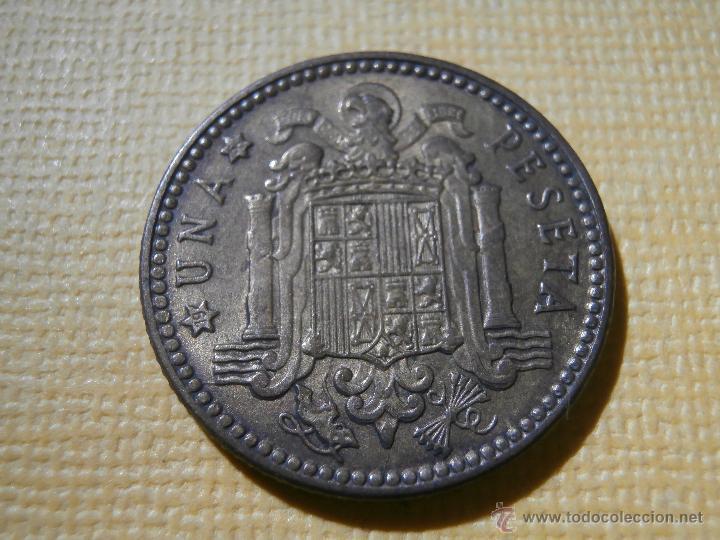 Monedas con errores: Acuñación desplazada - 1 peseta - 1963 * 66 - - Foto 2 - 55018166