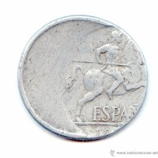 Monedas con errores: * ERROR * IMPRESIONANTE 10 CENTIMOS DE FRANCISCO FRANCO. Lote 55085413