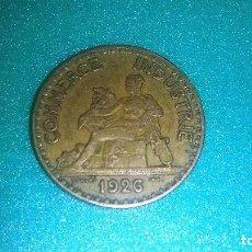 Monedas con errores: FRANCIA 2 FRANCOS AÑO 1926- ES PIEZA CLAVE, RARO AÑO -CHAMBRES-TIPO DOMARD.. Lote 176912474