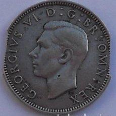 Monedas con errores: SHILLING - 1941 - GRAN BRETAÑA - PLATA - ERROR - DOS MORDISCOS - COSPEL FALTADO. Lote 66932938