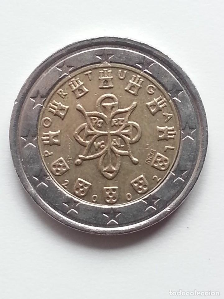 ## ERROR ## 2 EUROS PORTUGAL 2002 NUCLEO MAYOR ## (Numismática - España Modernas y Contemporáneas - Variedades y Errores)