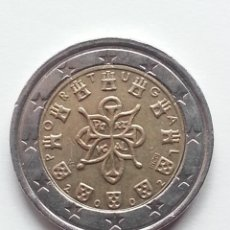 Monedas con errores: ## ERROR ## 2 EUROS PORTUGAL 2002 NUCLEO MAYOR ##. Lote 68467957