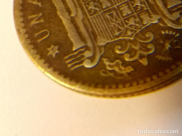 Monedas con errores: 3 errores en la misma moneda de 1 peseta de 1953 - Foto 7 - 75308871