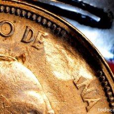 Monedas con errores: MONEDA DE 50 PESETAS FRANCO 1957 *58 CON IMPACTO EN ZONA ESPAÑA SIN Ñ (REF. 88). Lote 81082656