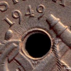 Monedas con errores: CURIOSA MONEDA DE 50 CÉNTIMOS 1949 *51 CON RAYOS DE SOL, ETC. ETC. (REF. 136). Lote 82797312