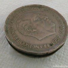 Coins with Errors - Error acuñación Moneda 50 pesetas 1957 estrella 58 - 86427628