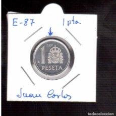 Monedas con errores: MONEDAS ESPAÑOLAS JUAN CARLOS I ERROR E-87. Lote 89189412