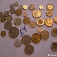 Monedas con errores: GRAN LOTE DE MONEDAS VARIAS - ESPAÑA Y OTROS PAISES. Lote 89250200