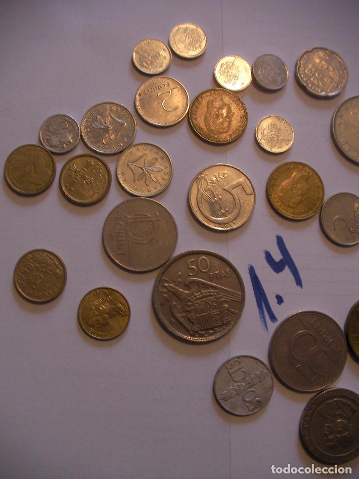 Monedas con errores: GRAN LOTE DE MONEDAS VARIAS - ESPAÑA Y OTROS PAISES - Foto 2 - 89250200
