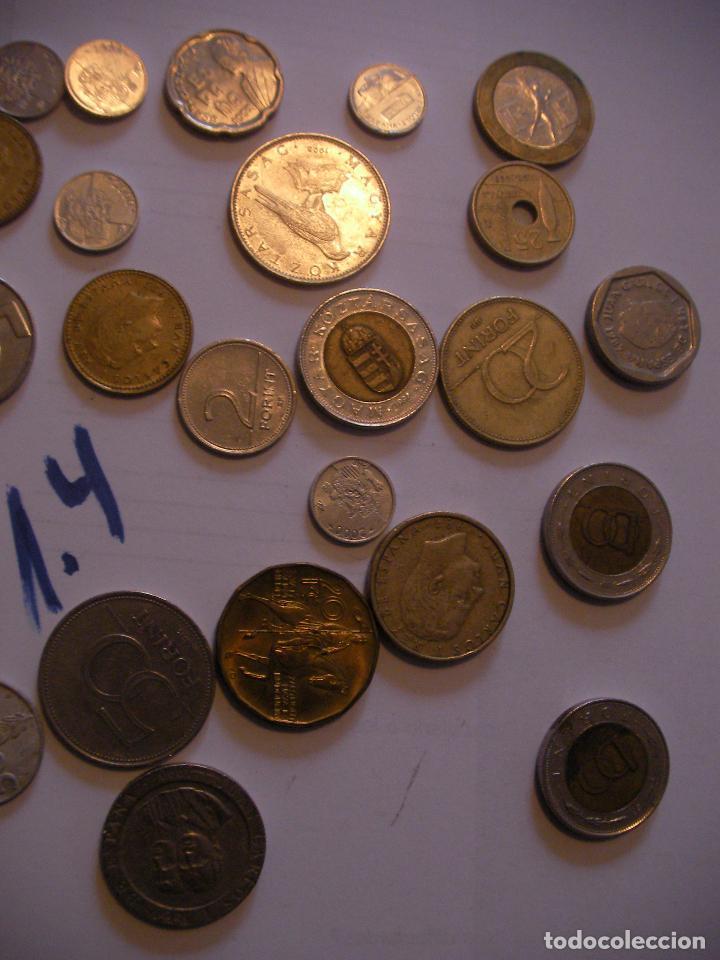 Monedas con errores: GRAN LOTE DE MONEDAS VARIAS - ESPAÑA Y OTROS PAISES - Foto 3 - 89250200