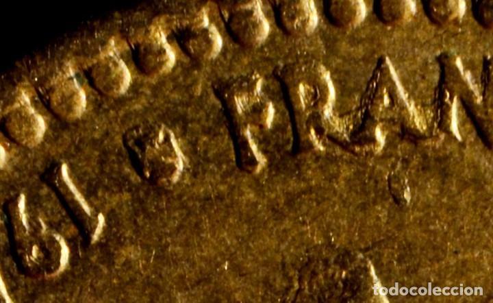 Monedas con errores: UNA PESETA 1966 *74: GRAFÍA MUY IRREGULAR Y CUELLO DE FRANCO CON EXCESO DE MATERIAL (REF.300) - Foto 3 - 89496132