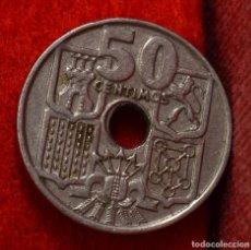Coins with Errors - 50 CÉNTIMOS 1949 *62:ERRORES MÚLTIPLES (REF. 336) - 90781090