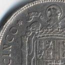 Monedas con errores: 5 PESETAS 1949 EN ALGUNOS CATÁLOGOS VARIANTE SO Y OTROS ERRORES DE ACUÑACIÓN.. Lote 91462230