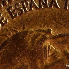 Monedas con errores: UNA PESETA 1963 *66: GRANDES ERRORES DE REPINTE EN ANVERSO (REF. 341). Lote 92208185