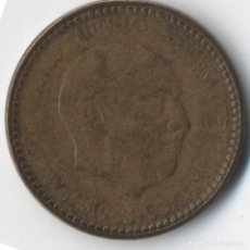 Monedas con errores: ESPAÑA 1963 1 PESETA VARIOS ERRORES VER IMÁGENES. Lote 92893790