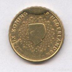 Monedas con errores: * ERROR * 10 CENT HOLANDA AÑO 2000 CUÑO DESCANTILLADO. Lote 93020425
