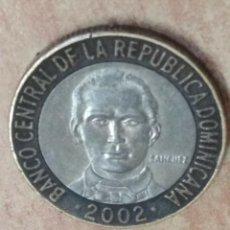 Monedas con errores: 5 PESOS DE LA REPUBLICA DOMINICANA. Lote 93298235