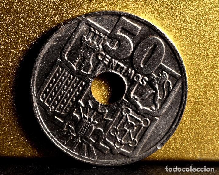 CINCUENTA CÉNTIMOS 1963 *65: VARIOS ERRORES (REF. 366) (Numismática - España Modernas y Contemporáneas - Variedades y Errores)