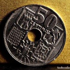 Monedas con errores: CINCUENTA CÉNTIMOS 1963 *65: VARIOS ERRORES (REF. 366). Lote 93768720