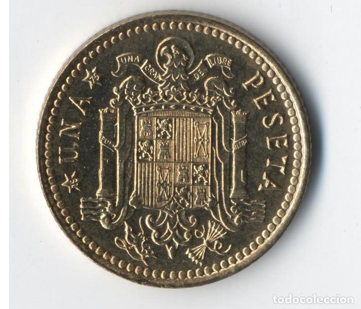 Monedas con errores: ESTADO ESPAÑOL 1 PESETAS 1966 *75 VARIANTE SIN VIRGULILLA. SC DE CARTUCHO FNMT - Foto 3 - 93895830
