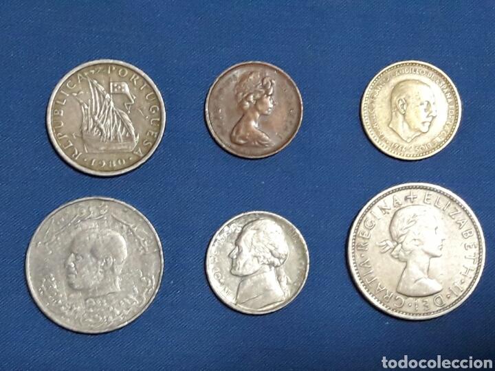LOTE 6 MONEDAS (Numismática - España Modernas y Contemporáneas - Variedades y Errores)