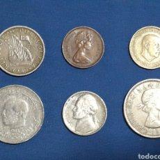 Monedas con errores: LOTE 6 MONEDAS . Lote 94272350
