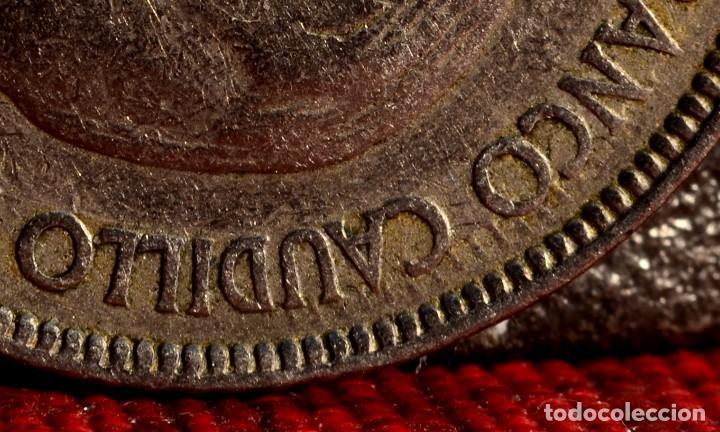Monedas con errores: CINCO PESETAS 1957 *65: VARIOS ERRORES (REF.387) - Foto 4 - 94449706
