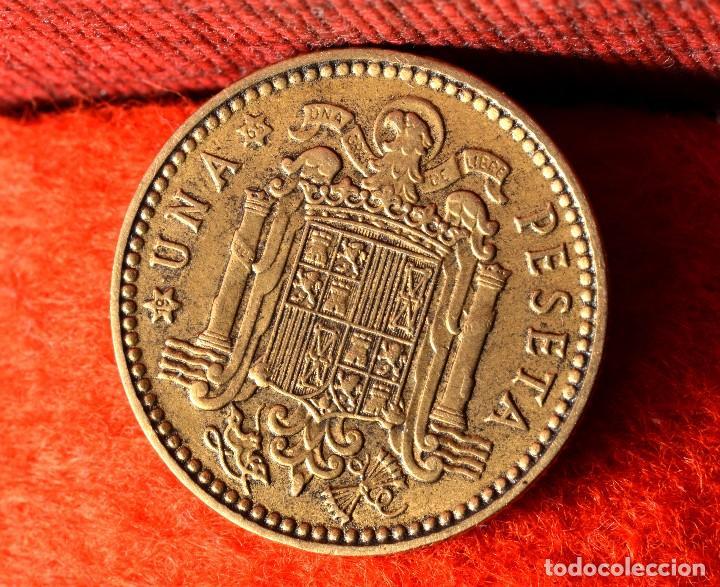 Monedas con errores: UNA PESETA 1963 *65. MÚLTIPLES ERRORES (REF. 410) - Foto 5 - 96475055