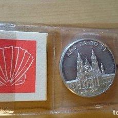 Monedas con errores: MEDALLA PLATA CONMEMORATIVA AÑO SANTO 1999. Lote 98047775