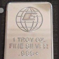 Monedas con errores: 1 TROY OZ FINE SILVER.999+. Lote 98412555