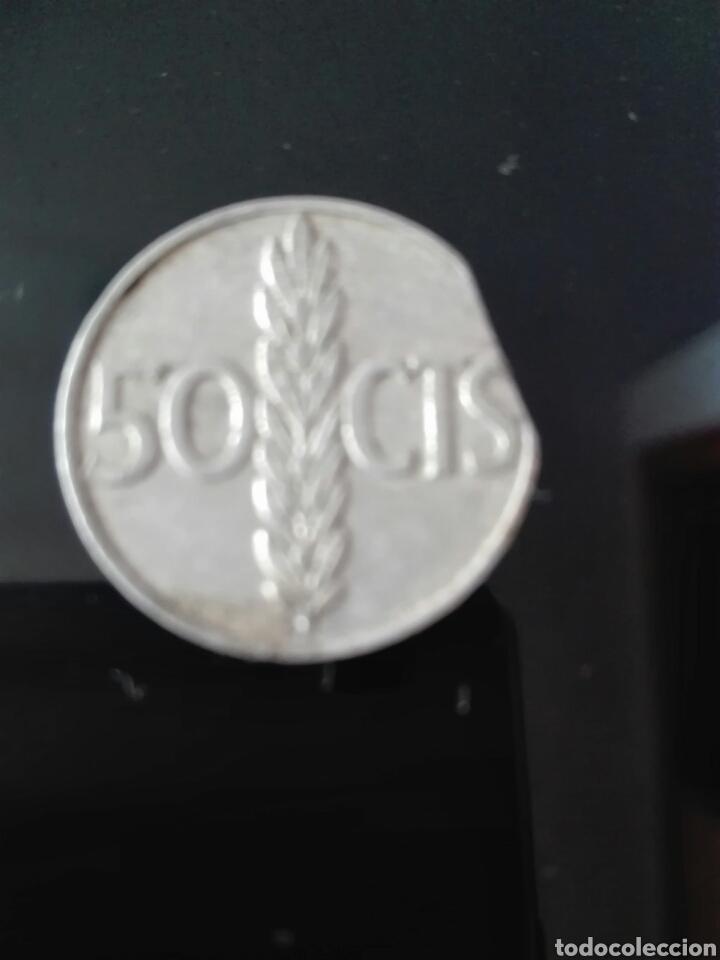 ERROR 50CENTIMOS DEL ESTADO ESPAÑOL (Numismática - España Modernas y Contemporáneas - Variedades y Errores)