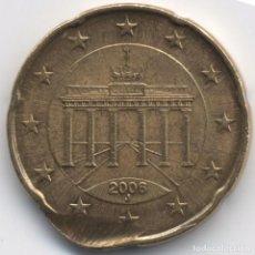 Monedas con errores: ALEMANIA 20 CÉNTIMOS DE EURO 2006 - J. ERROR? MANIPULACION?. Lote 102099611