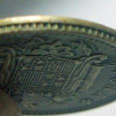 Monedas con errores: ERROR DE ACUÑACION EN MONEDA DE 1 PESETA 1966 * 67 VIROLA CORONADA. Lote 103140823